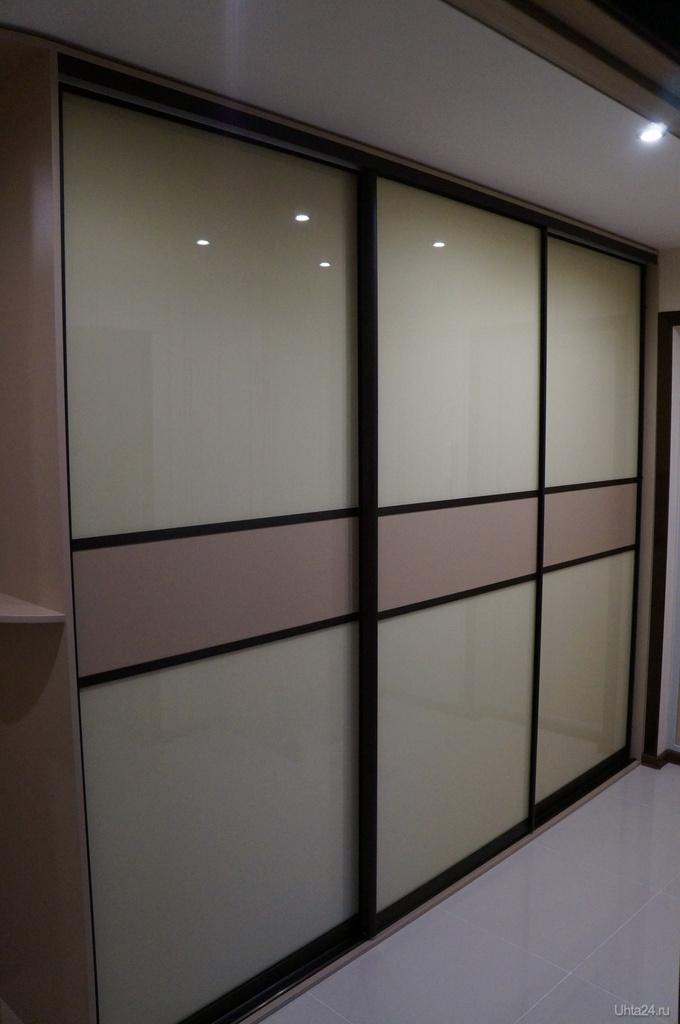 Фотография комбинированные двери встроеннгог шкафа. коминаци.